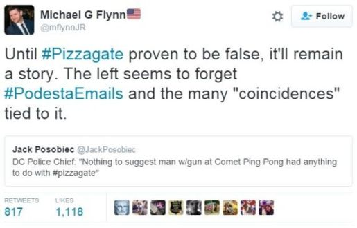 pizzagate-michael-flynn-tweet